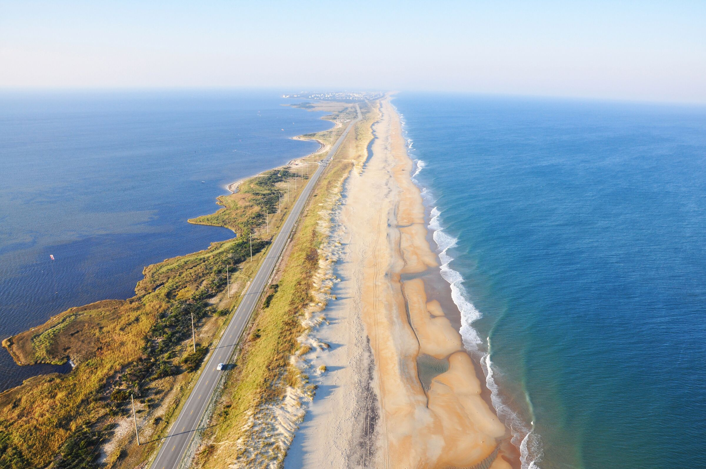 OBX aerial - The Outer Banks Visitors Bureau
